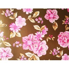 BR01 - AS Creation natuur bloem bruin