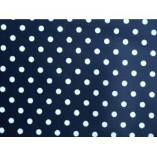 B20 - Esta stippen donkerblauw/wit