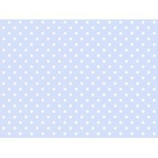 B22 - Esta stippen lichtblauw/wit