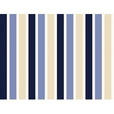 BW06 - Esta strepen blauw en wit