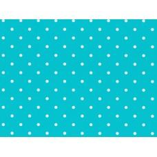 B21 - Rasch stippen blauw/wit