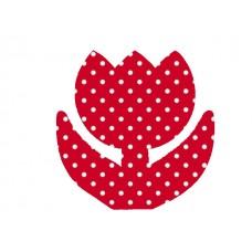 Behang figuur Tulp