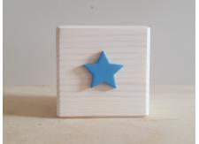 3d Figuurblok ster