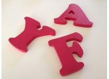 Piepschuim letter kleur Cooper