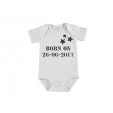 Baby rompertje korte mouw ster